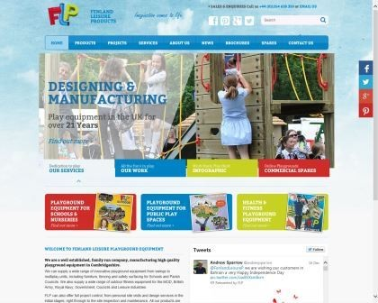 Play on with Fenland Leisure Products' new website