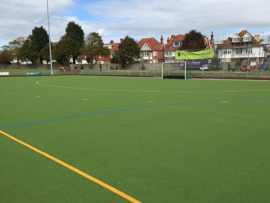 O'Brien Contractors strike gold with Eastbourne Hockey Club