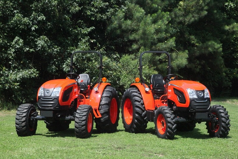 New Kioti compact tractor range available through Reco