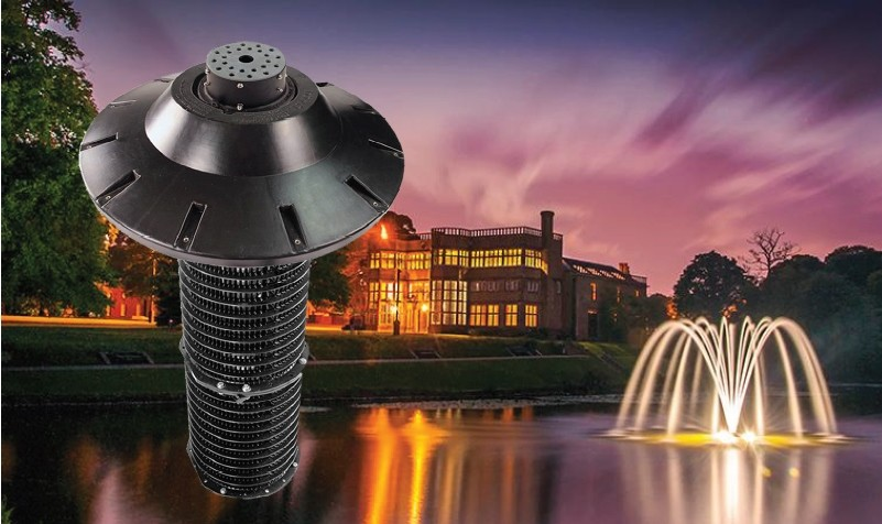Water specialists Hydroscape Systems launch new aerators