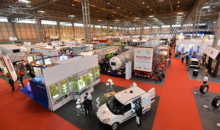 Commercial Vehicle Show 2015 gets under way