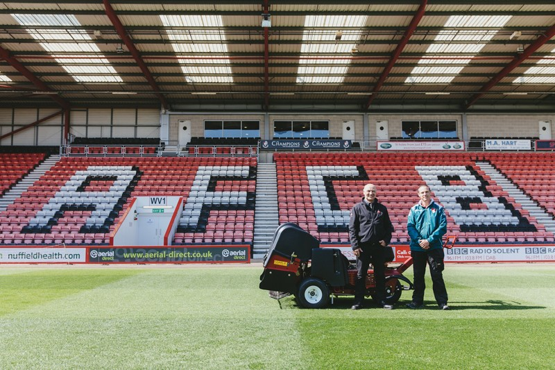 AFC BOURNEMOUTH'S PITCH NOMINATED ONE OF BEST IN CHAMPIONSHIP THANKS TO HELP FROM TORO