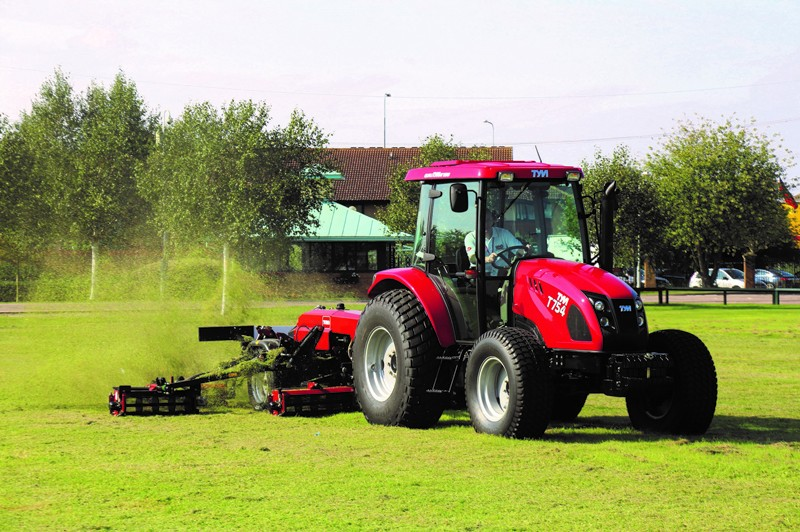 NEW TYM TRACTOR WITH ENHANCED PERFORMANCE AND IMPROVED EMISSIONS STANDARDS ARRIVES AT LELY UK