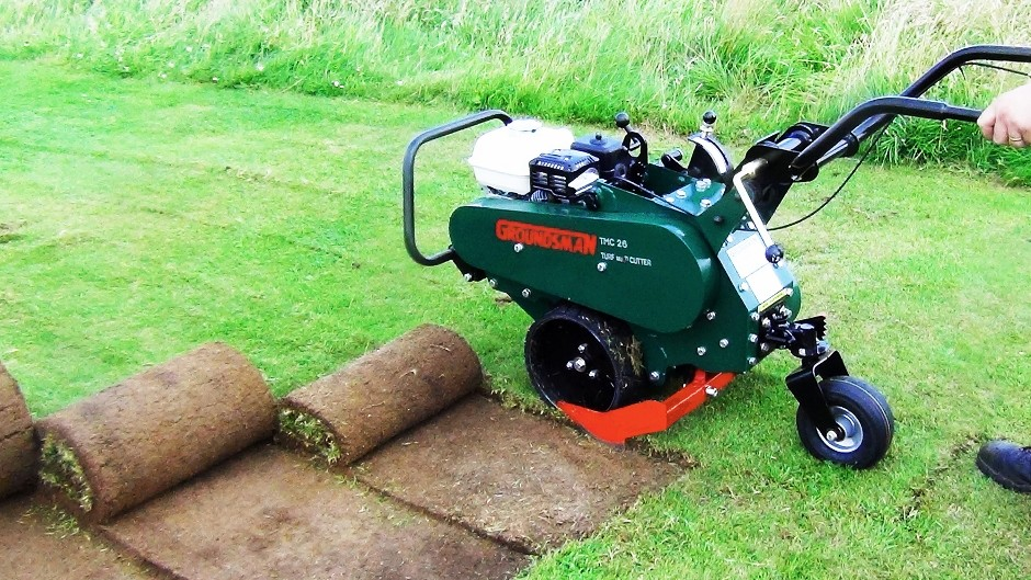 Groundsman Industries highlights turf cutter and aerator