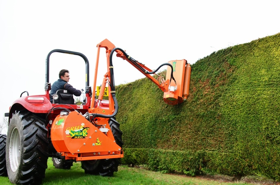 New range of compact tractor park and garden maintenance equipment