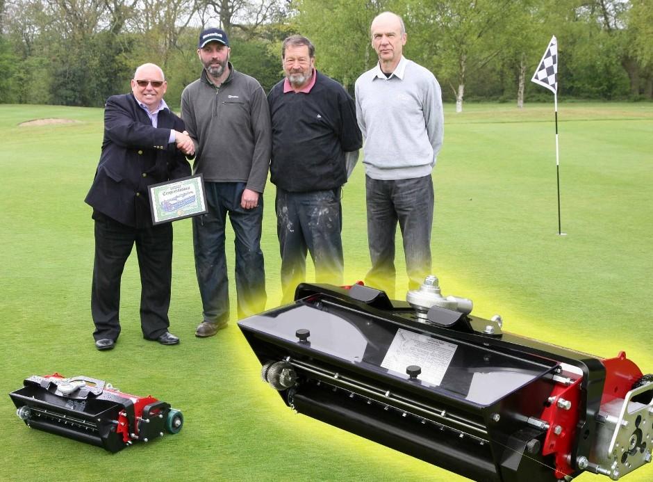 Greenkeeper is surprise winner of GreenTek Dyna-Seeder units