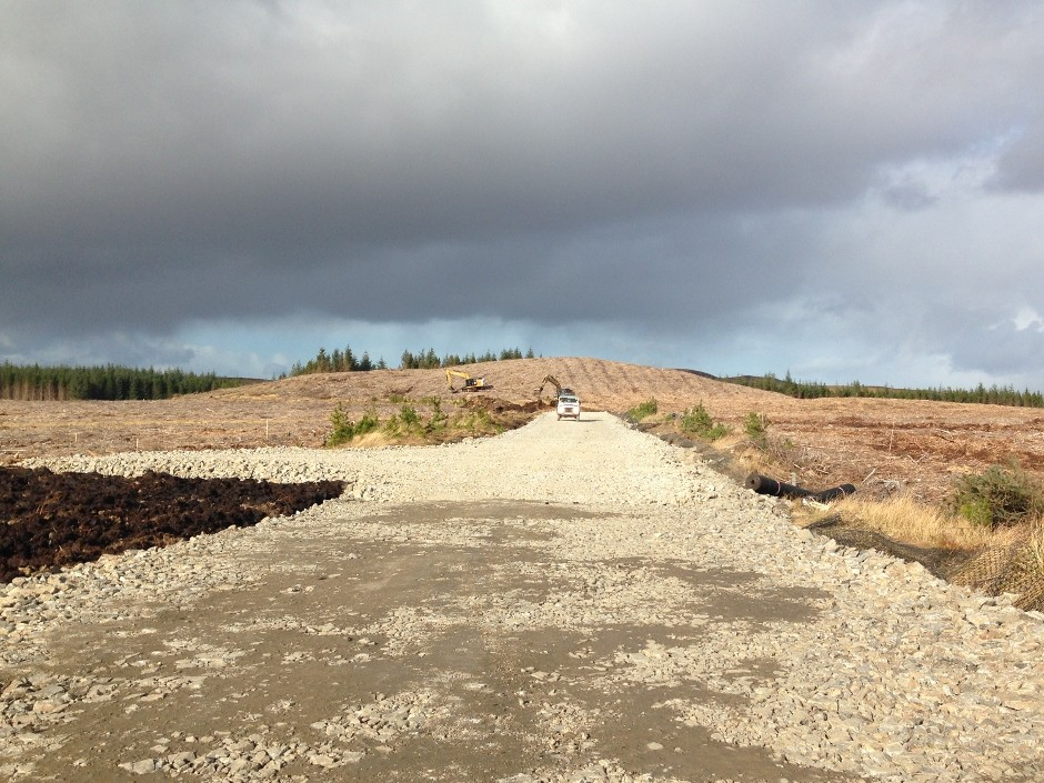 Tensar supplies geogrids for SSE Highlands wind farm project