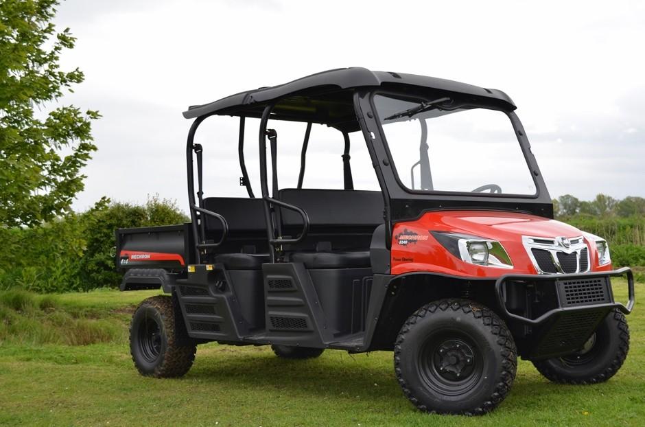 Diesel UTVs from Kioti build on successful chassis