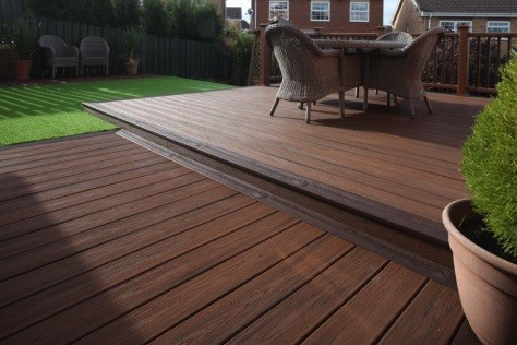 "Low maintenance decking means more ""me time"""