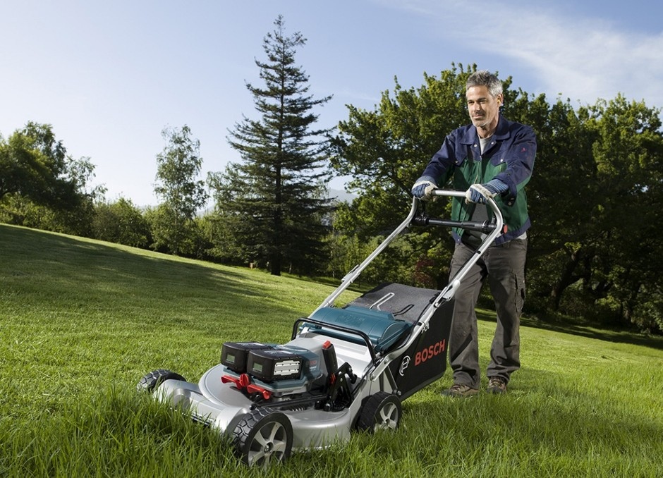 Bosch demonstrates the future of professional gardening