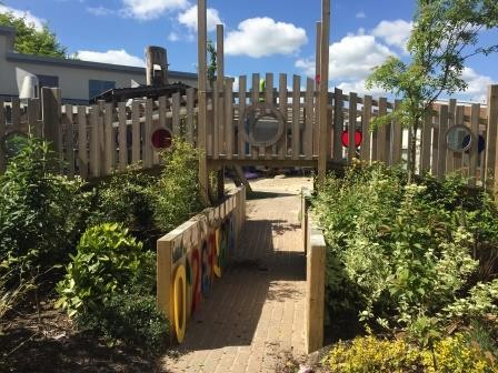 Playgarden completes project at Horsham Nursery School, Children and Family Centre