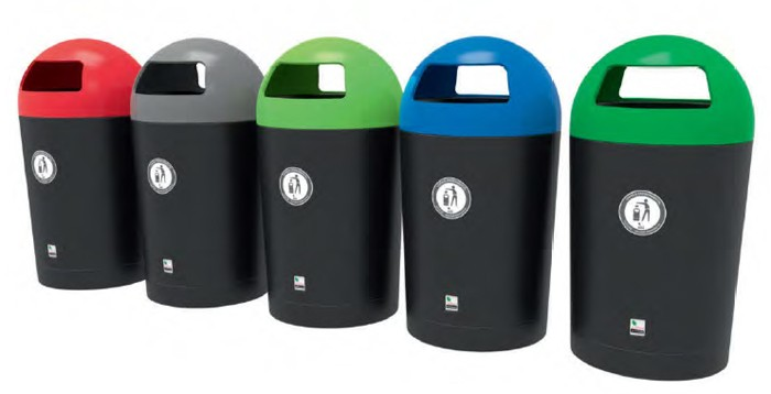 Bright prospects for Metro Dome litter bins