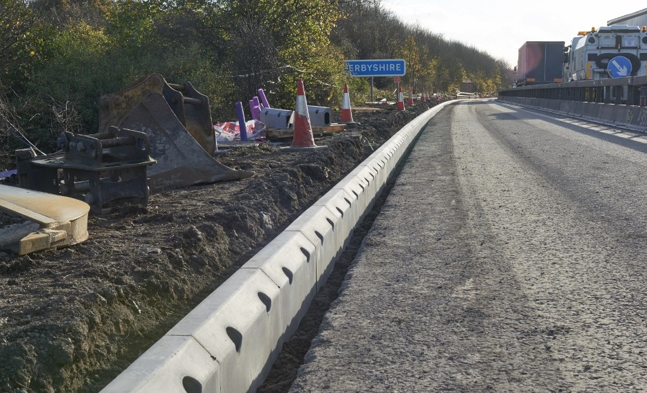 Marshalls delivers with 15,000 linear metres of drainage to upgrade M1