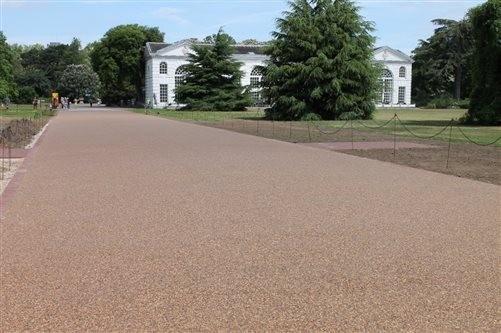 Addagrip's Terrabase Rustic installed at Kew Royal Botanic Gardens