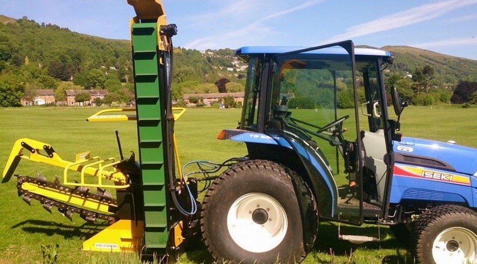 AFT trencher to install structured drainage scheme