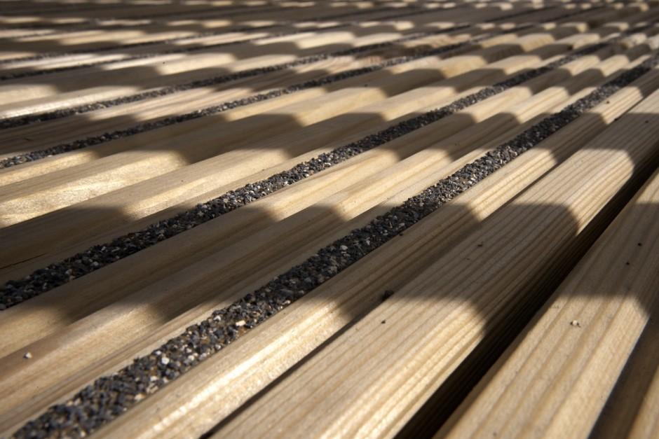 DeckWright solves slippery decking problem for children's nursery