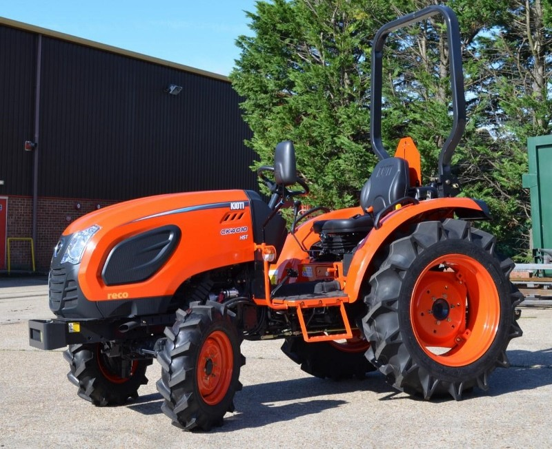 Two new models for the Kioti range of compact tractors