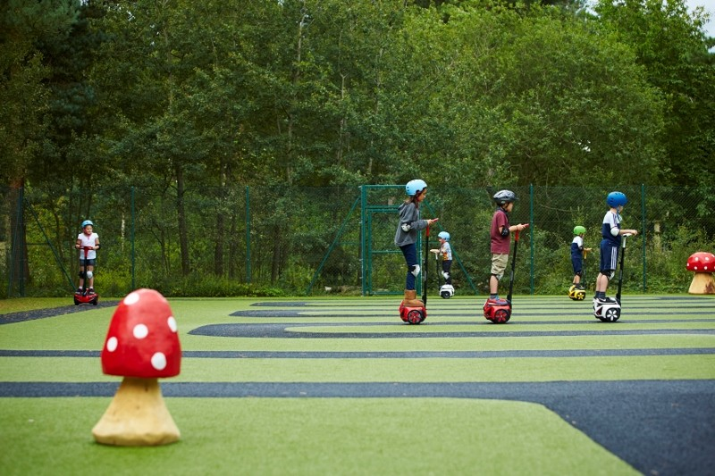 LazyLawn rolls out Woodland Wheelers track for Center Parcs