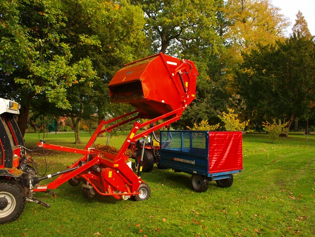 Wiedenmann UK's leaf collection kit goes from strength to strength