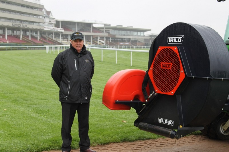 Haydock Park blown away with Trilo products
