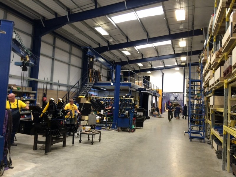 AFT Trenchers moves to larger state-of-the-art factory to sustain expansion plans