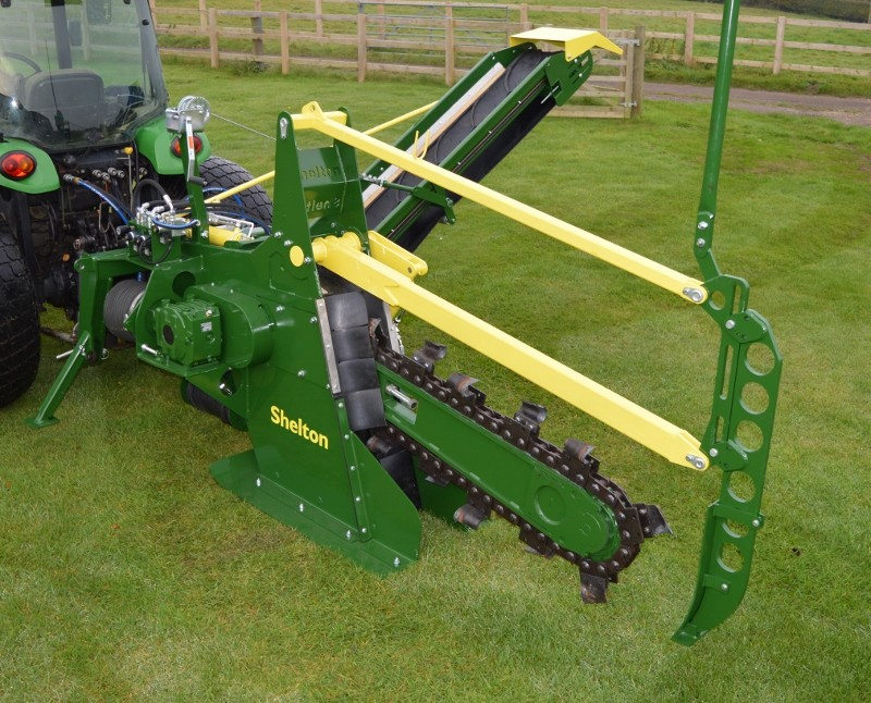 Shelton launch new model CT100 chain trencher