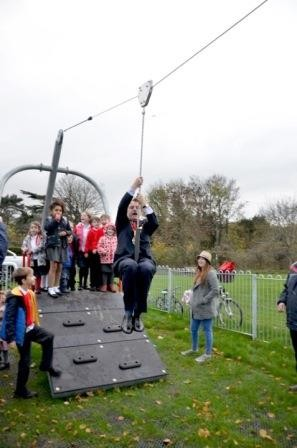 Ray Parry Playgrounds transforms play area with input of local children