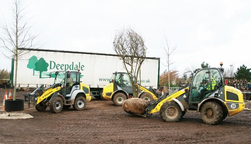 Another Kramer wheeled loader for Deepdale Trees