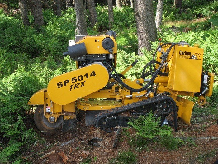 Carlton machinery helps revert woodland back to open heathland