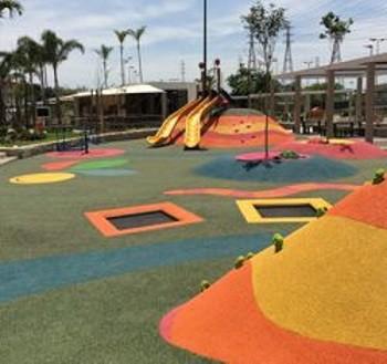Playtop transforms playground for Rio 2016