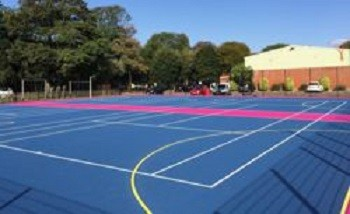 ETC Sports provides school with new MUGA facilities