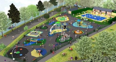 Ray Parry Playgrounds wins prestigious redevelopment in historic park
