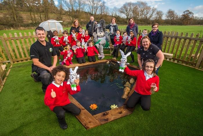 School's gardening club gets a helping hand from LazyLawn