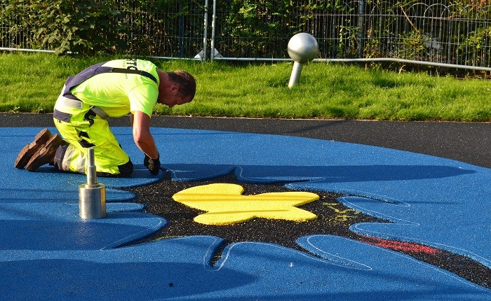 Safety surfacing contractors celebrate record breaking year