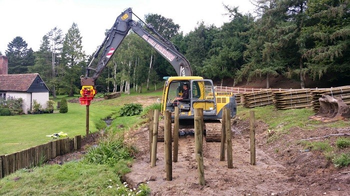 New attachment picks up posts and drives business for contractor