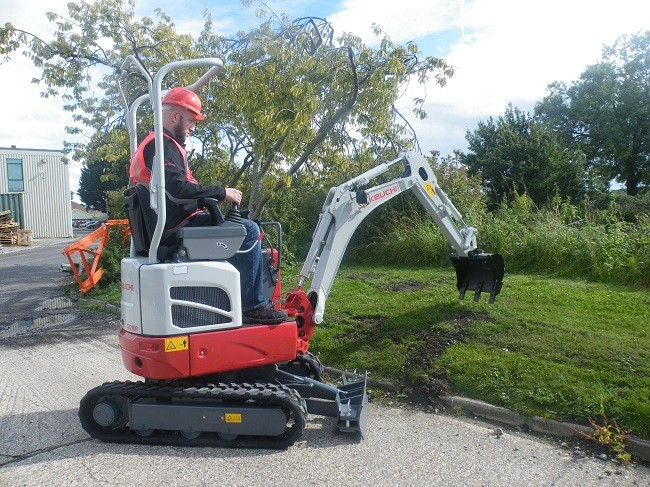 New Takeuchi Micro Powers into UK