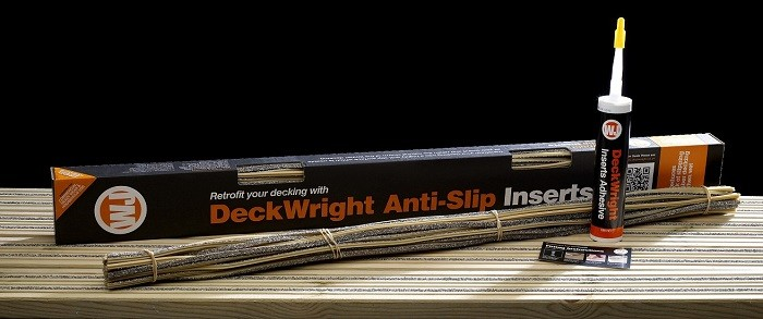 DeckWright Anti-Slip achieves DeckMark Plus by TDCA