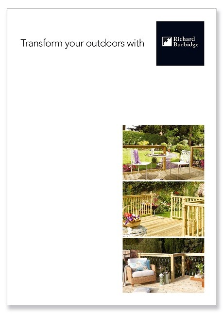 Introducing the new decking brochure from Richard Burbidge