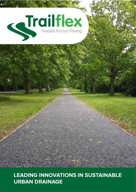 New Trailflex brochure on the benefits of flexible porous paving