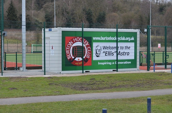 New Ellis Astro hockey pitch opened