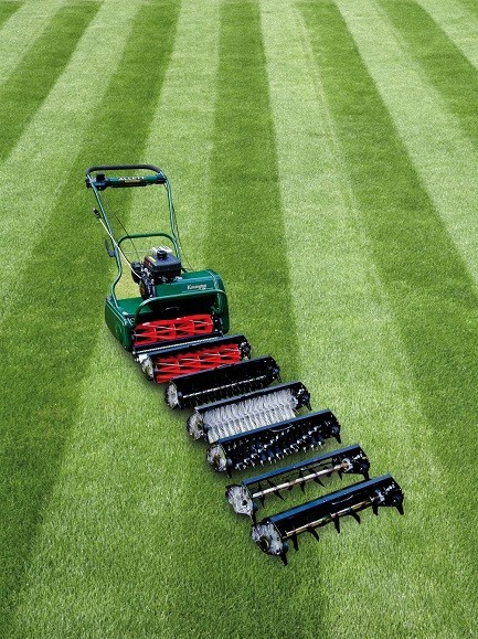 International Creative Lawn Stripes Competition sponsored by Allett Mowers