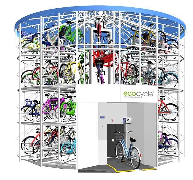 Apex Lifts manufactures revolutionary EcoCycle for the UK
