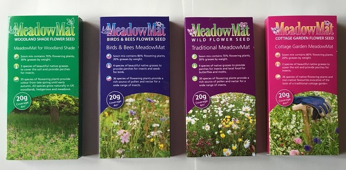 New range of wildflower seeds