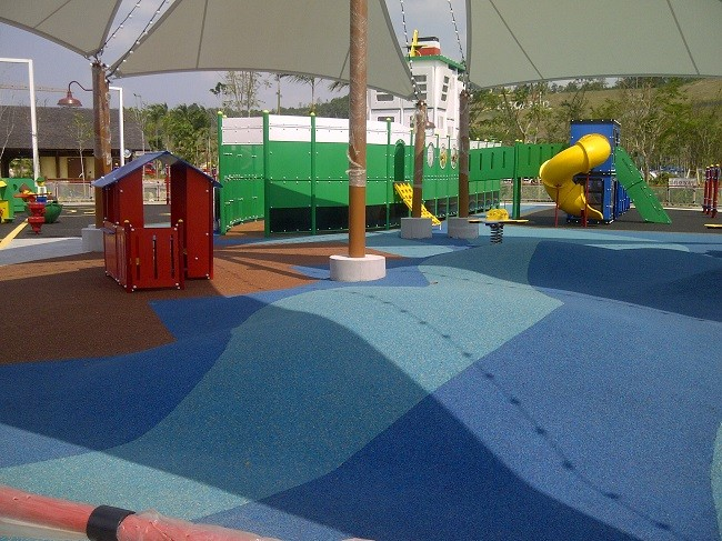 Brilliant colours with Miroad safety surfacing