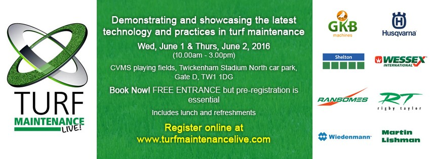 Momentum is growing for Turf Maintenance LIVE!