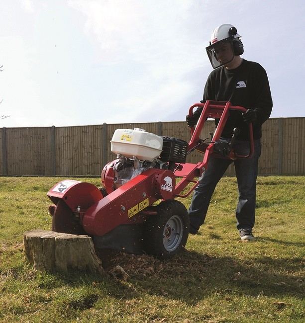 Tracmaster launches new CAMON stump grinder