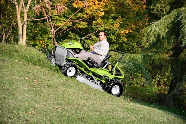 New ride-on brushcutters from Grillo