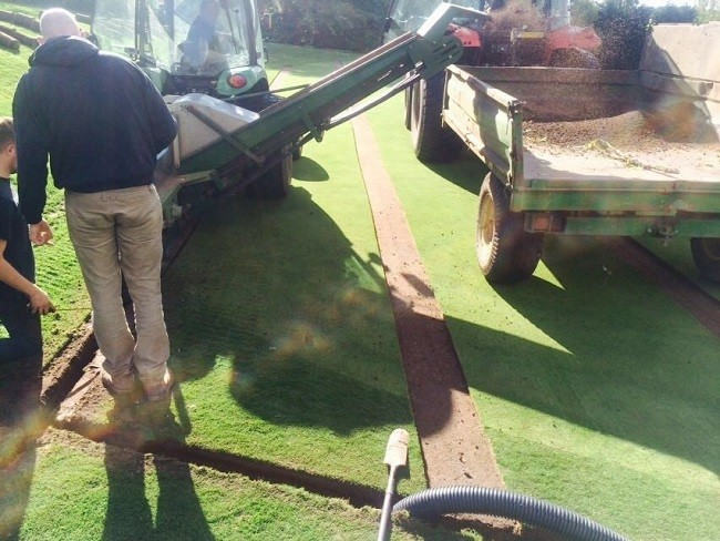 Phil Day Sports solution leads to free-draining playing surfaces