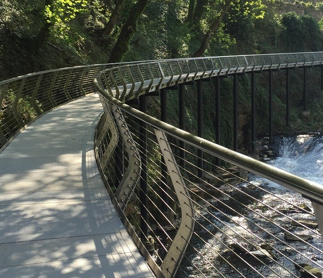 Safety facelift for award winning Millennium Walkway