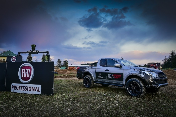 Fiat Fullback is title sponsor of the Motocross McGP of Great Britain